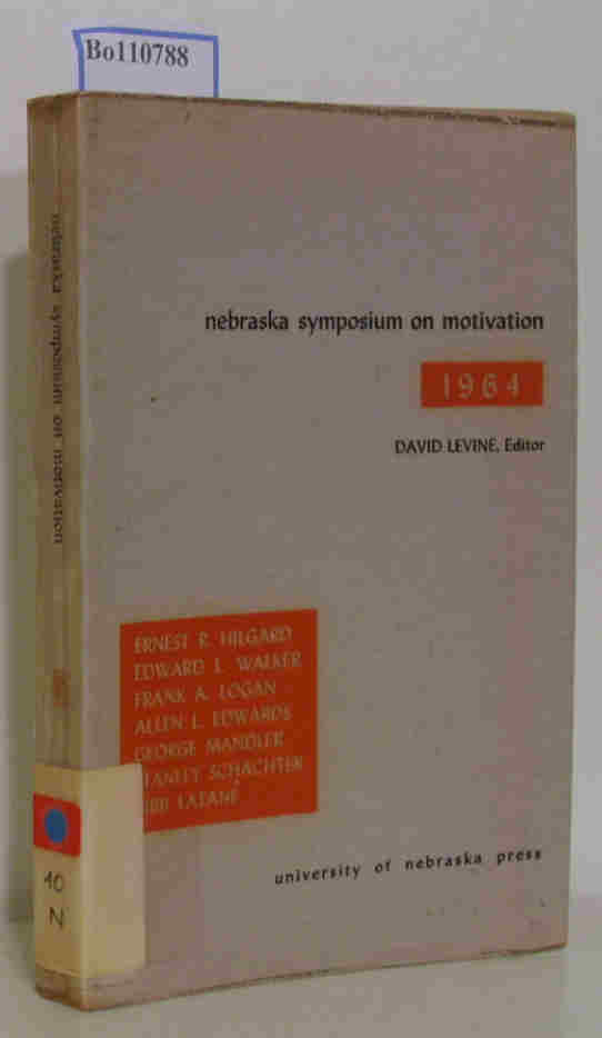 nebraska symposium on motivation 1964