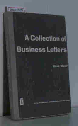 Meier, Hans: A Collection of Business Letters