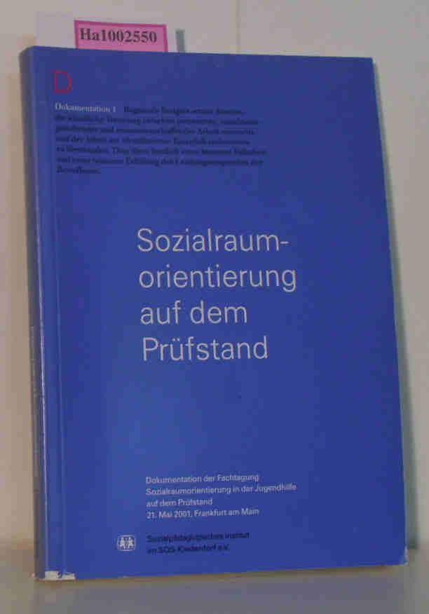 Sozialraumorientierung auf dem Prüfstand. Rechtliche und sozialpädagogische Bewertungen zu einem Reformprojekt in der Jugendhilfe. (= Dokumentation 1).