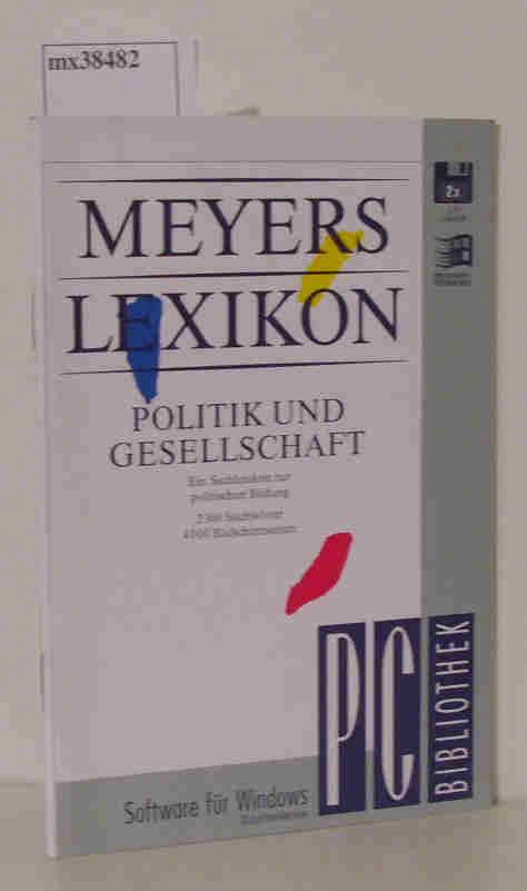 PC-Bibliothek Meyers Lexikon Politik und Gesellschaft