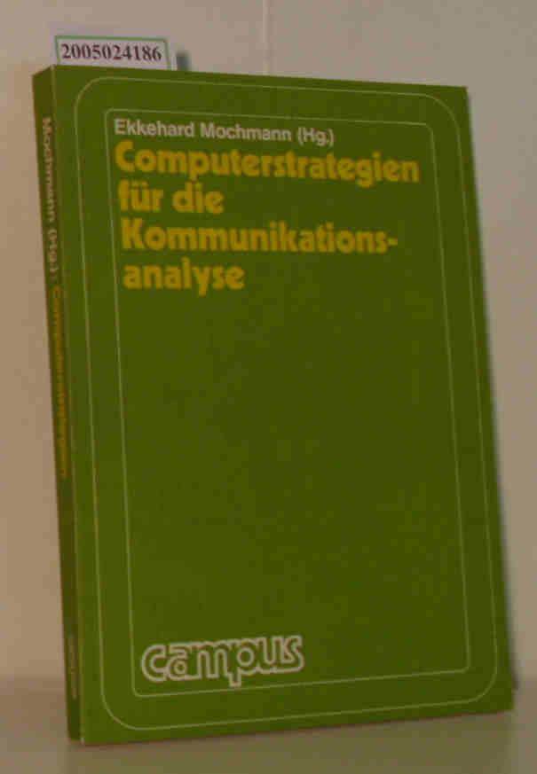 Computerstrategien für die Kommunikationsanalyse