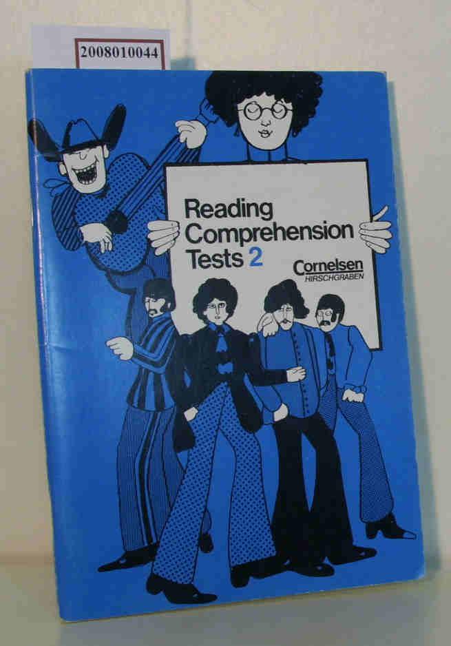 Reading comprehension tests 2, Übungstests für das 8. - 10. Schuljahr Reading comprehension tests.