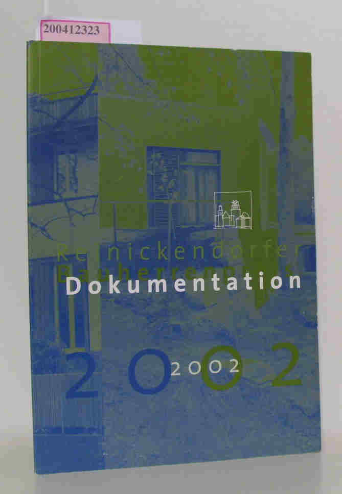 Reinickendorfer Bauherrenpreis Dokumentation 2002