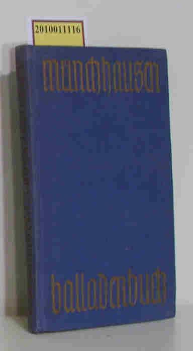 Münchhausen Balladenbuch