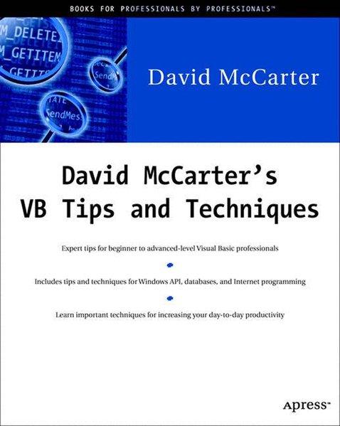 David McCarter's VB Tips and Techniques. - McCarter, David