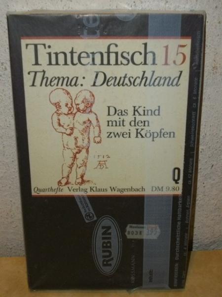 Tintenfisch . - 15.,  Thema Deutschland : d. Kind mit d. zwei Köpfen