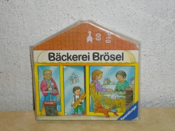 Meine kleine Strasse . - Bäckerei Brösel Bäckerei Brösel
