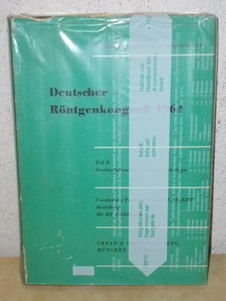 Deutscher Röntgenkongreß 1964 Bericht über die 45. Tagung der Deutschen Röntgengesellschaft vom 9. bis 13. April 1964 in Wiesbaden