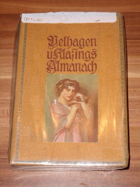 Almanach (Dritter / 3. Jahrgang) Hrsg. von der Redaktion von Velhagen und Klasings Monatsheften
