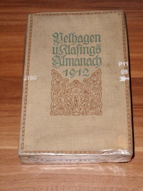 Almanach (Vierter / 4. Jahrgang) Hrsg. von der Redaktion von Velhagen und Klasings Monatsheften