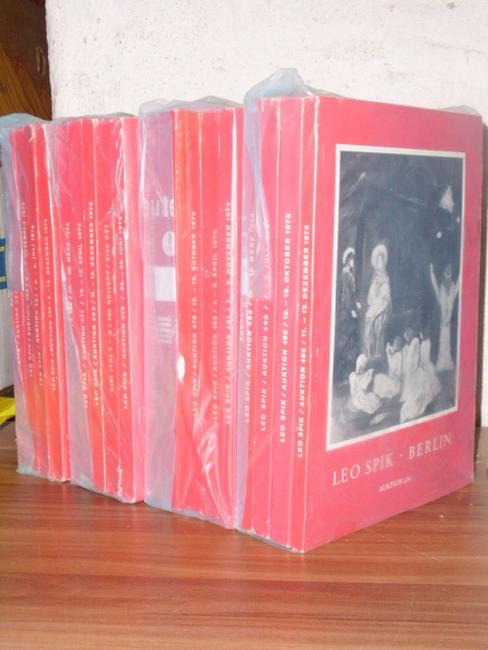 18x LEO SPIK BERLIN Auktionen Kunstversteigerungen