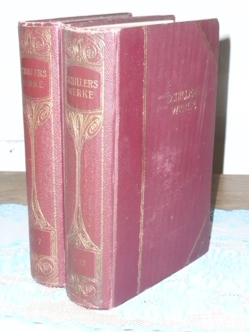 Schillers Werke, 2 Bücher: 6-7 und 8-10