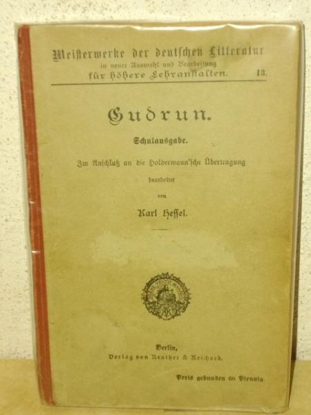 Gudrun - Schulausgabe Im Anschluß an die Holdermann