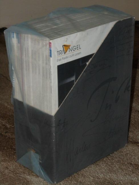 TRIANGEL. Das Radio zum Lesen Nr. 1-12 Jahrgang 2003 + Triangel Sonderausgabe 2003