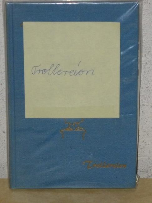 Trollereien Mit Zeichnungen von W. Maier-Solg