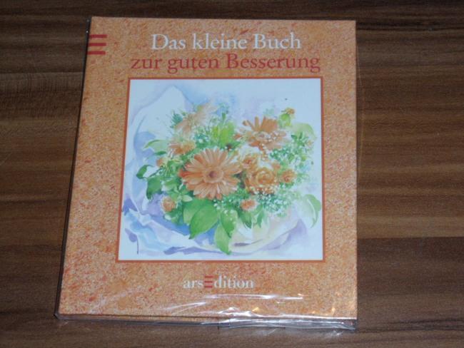 Das  kleine Buch zur guten Besserung mit Aquarellen von Christine Brandstätter