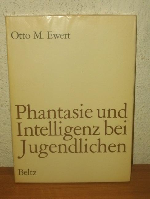 Phantasie und Intelligenz bei Jugendlichen : Eine empir. Untersuchung über Zusammenhang u. Entwicklung.