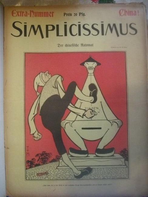 Simplicissimus, 6. Jahrgang 1901 - Illustrierte Wochenschrift Nr. 1-53, Mit der Extra Nummer China
