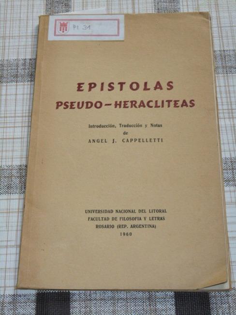 Epístolas pseudo-Heracliteas