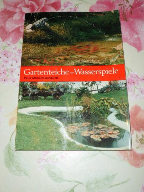 Gartenteiche, Wasserspiele. [Zeichn.: Frey]