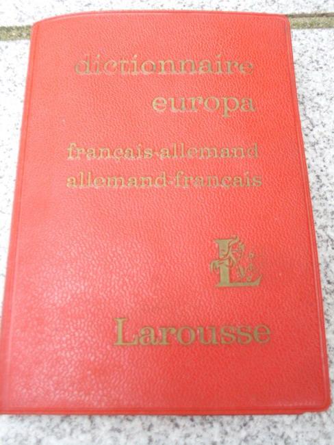 Dictionnaire Europa (Francais - Allemand / Allemand - Francais)