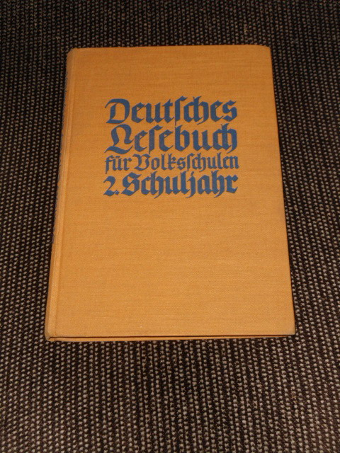 Deutsches Lesebuch für Volksschulen 2. Schuljahr