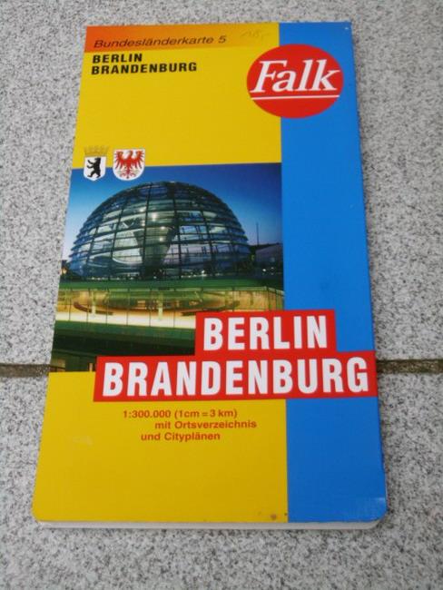 Bl. 5. Berlin, Brandenburg (1:300.000) Bundesländerkarte 5 Laufzeit bis 2002