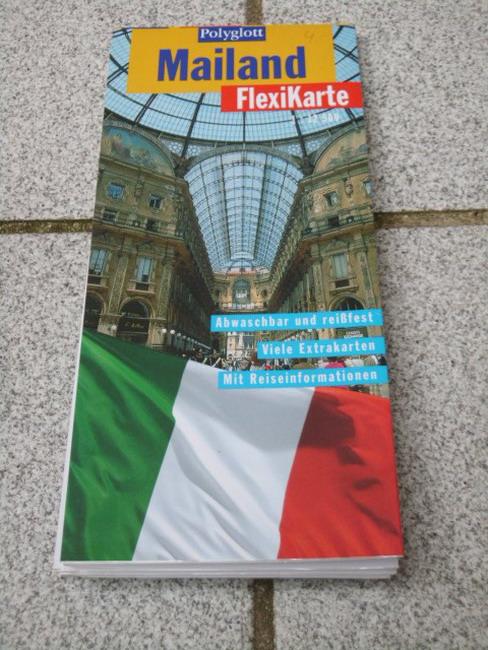 Mailand. (1:12 500) Textautorin:, Polyglott-FlexiKarte 1. Aufl.