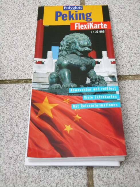Peking (1:27 000) Textautor:, Polyglott-FlexiKarte 1. Aufl.
