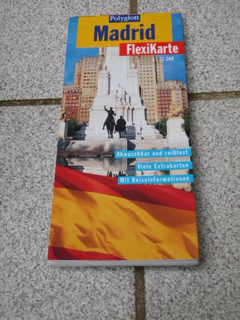 Madrid (1:11 200) Textautor:, Polyglott-FlexiKarte 1. Aufl.