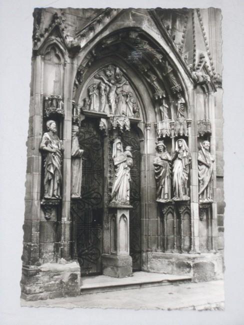 AK Wimpfen / Neckar, St. Peter, Südportal um 1274