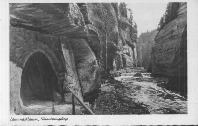AK Edmundsklamm, Elbsandsteingebirge