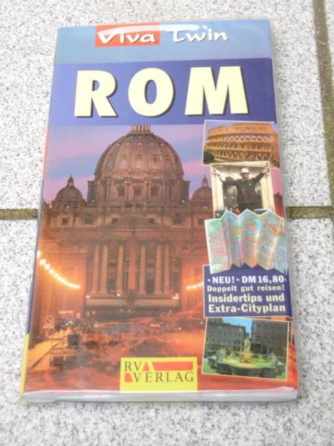Rom : doppelt gut reisen! ; [Insidertips und Extra-Cityplan zum Herausnehmen]. [Autor. Übers. Einar Schlereth], Viva twin