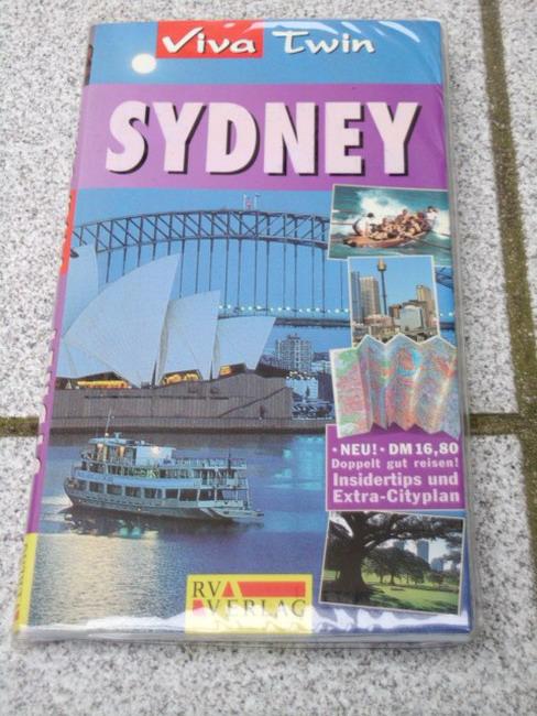 Sydney : doppelt gut reisen! ; [Insidertips und Extra-Cityplan]. [Autorin:. Übers.: Isabel Kipfer], Viva twin