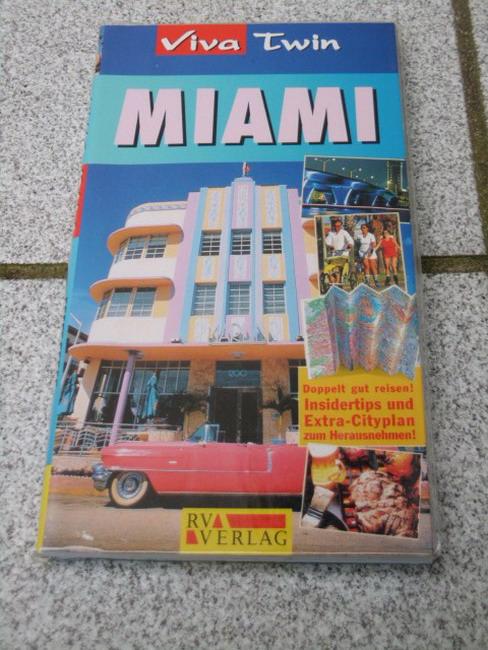 Miami : [Insidertips und Extra-Cityplan zum Herausnehmen!]. [Autor:. Übers.: Hilla Krüger], Viva twin