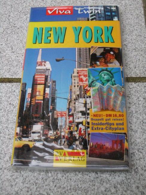 Sekules, Kate: New York : [Insidertips und Extra-Cityplan zum Herausnehmen]. [Autorin:. Übers.: Jacqueline Klein], Viva twin