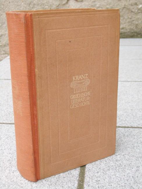 Geschichte der griechischen Literatur. Sammlung Dieterich ; Bd. 42 2. Aufl.
