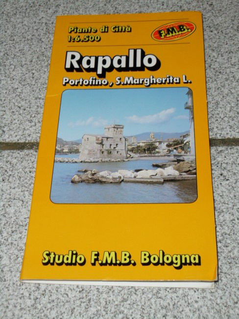 Rapallo, S. Margherita L., Portofino : piante de città Scala 1:6.500 Euro city