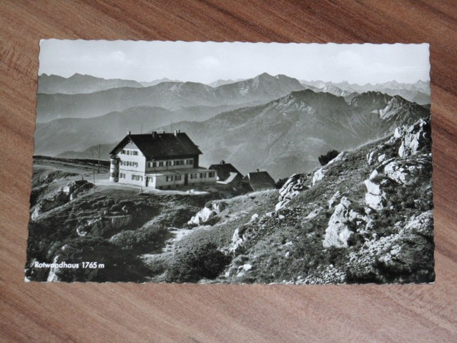 AK Rotwandhaus 1765 m, gegen Rofan und Schinder