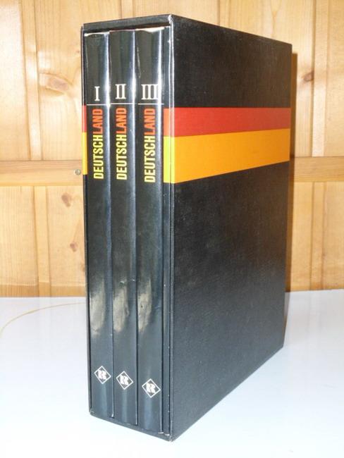 Deutschland - Die Geschichte der Bundesrepublik (Band 1-3) + Grundgesetz für die Bundesrepublik Deutschland
