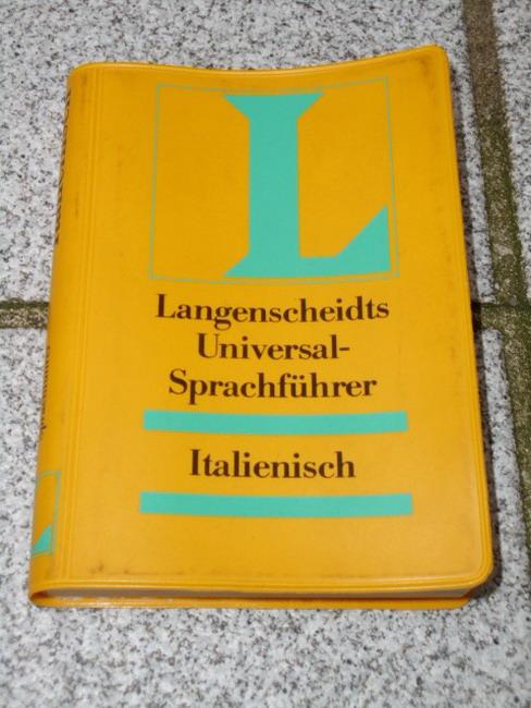 Langenscheidts Universalsprachführer Italienisch 13. Auflage
