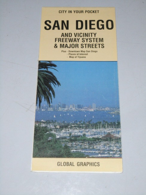 San Diego : and vicinity freeway systems and major streets 1:200.000