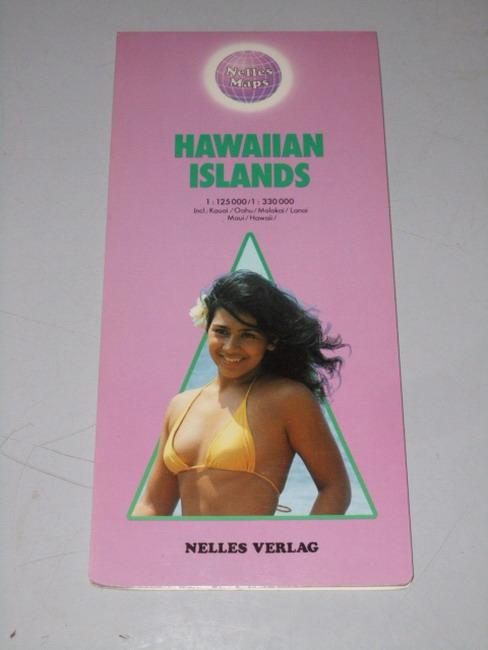 Hawaiian Islands : incl.: Kauai, Oahu, Molokai, Lanai, Maui, Hawaii [1:125.000 - 1:330.000] Nelles maps