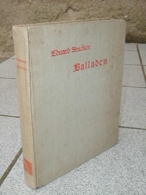 Stucken, Eduard und Fidus: Balladen [Buchschmuck von Fidus]