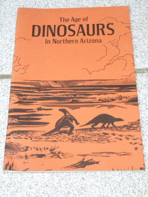 The age of dinosaurs in northern Arizona Drawings by Barton A. Wright 4. print.