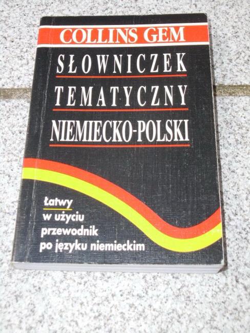 Schnorr, Veronika und Horst Kopleck: Slowniczek tematyczny niemiecko-polski