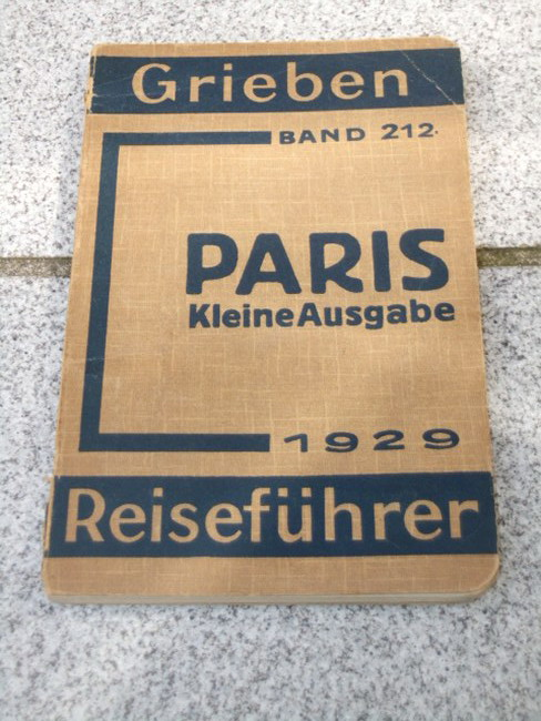 Paris Kleine Ausgabe 18. Aufl., Grieben Band 212