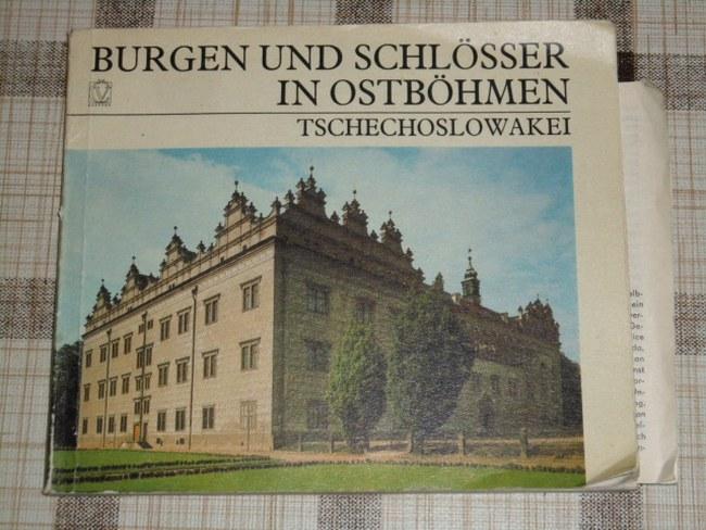 Burgen und Schlösser in Ostböhmen / Tschechoslowakei
