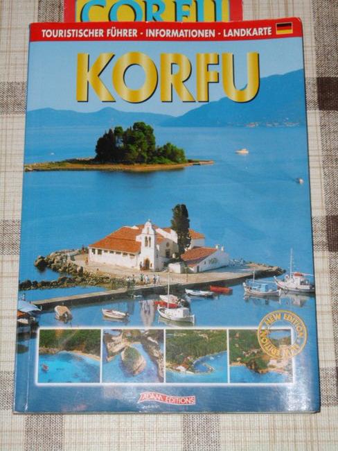 KORFU Touristischer Führer