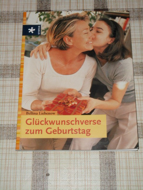 Liebenow, Bellina: Glückwunschverse zum Geburtstag. 1. Aufl.